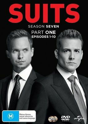 Suits Season 7 Seven Part 1 One Episodes 1 - 10 DVD NEW Region 2 and 4