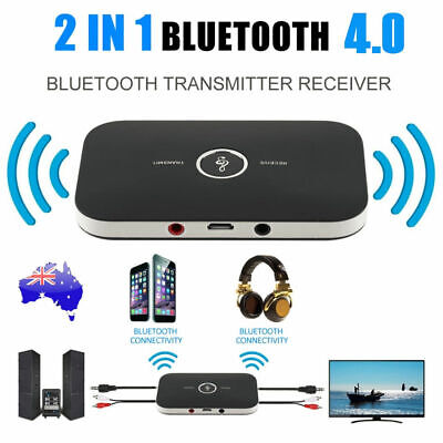 HIFI Wireless Bluetooth Music Audio Transmitter&Receiver 3.5MM RCA Adapter Cable