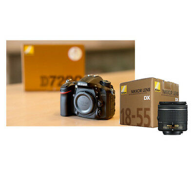 Nikon D7200 + AF-P DX NIKKOR 18-55mm f/3.5-5.6G VR kit Multi Stock in EU Mejor