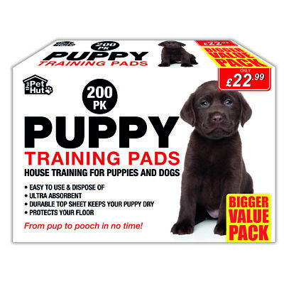 Puppy Pads 200 Pack Disposable House Training Dogs Sheets Absorbent 60cmx60cm