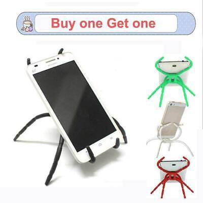 Universal Flexible Spider Mobile Phone Holder Mount Stand Table -BUY ONE GET ONE