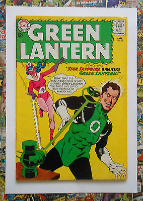 Green Lantern #26 - Jan 1964 - Star Sapphire Appearance! - Fn- (5.5) Cents Copy!