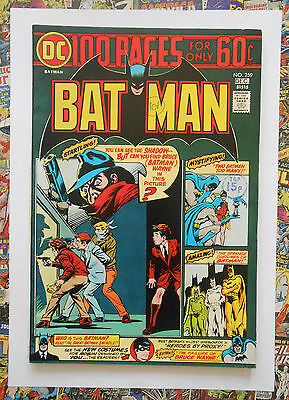 Batman #259 - Dec 1974 - Shadow Appearance! - Vfn- (7.5) 100 Page Cents Copy!