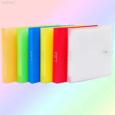 CD Player Holder Case Colorful Brochure Music Plastic Corlor Collection