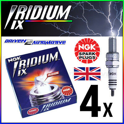4 x NGK IRIDIUM IX CR8EIX SPARK PLUG UPGRADE FOR C8E,CR8E,CR8EB,CR8EK,CR8EVX