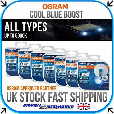 OSRAM Cool Blue Boost All Bulbs 5000K UPGRADE H1 H4 H7 H9 H11 HB3 HB4