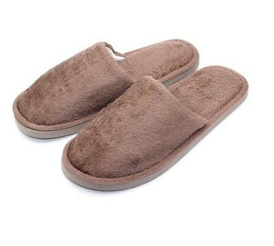 Winter Men Slippers Soft Sole Autumn Warm Home Cotton Plush Indoor Flat Shoes