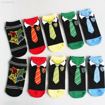 5 Pairs Women Harry Potter Winter Cotton Warm Knee Protector Socks Stockings