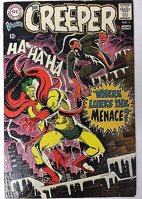 Beware The Creeper #1 (1968) DC 2nd Appearance Steve Ditko