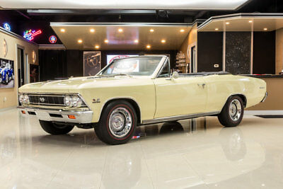 Chevrolet Chevelle SS Convertible Frame Off, Rotisserie Build! GM 502ci V8 Crate Engine, TKO 5-Speed, PS, PB, A/C