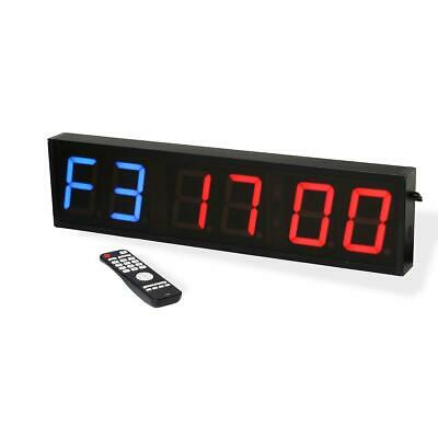 Bytomic Timer Programmable Interval Gym Boxing MMA Wall Timer & Remote Control