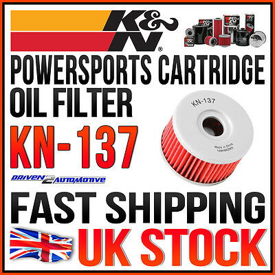 K&n Kn-137 Cartridge Oil Filter 1997 Suzuki Xf650 Freewind 650