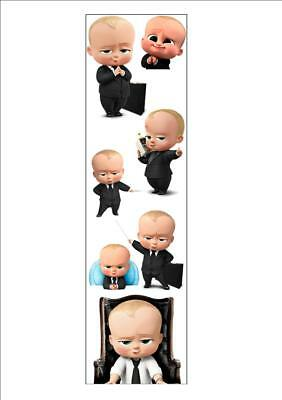 Boss Baby 12 pack Bookmarks Birthday Party Bags Christmas Stocking Filler