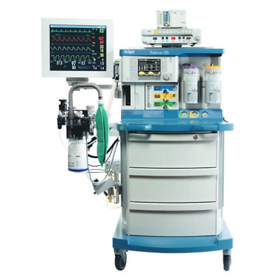 Drager Fabius OS Anesthesia Machine - Biomed Tested - ASEA-0114