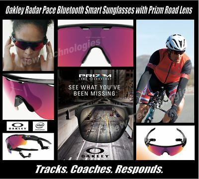 NEW/Sealed OAKLEY RADAR PACE Bluetooth Smart Voice-Activated Coaching Sunglasses