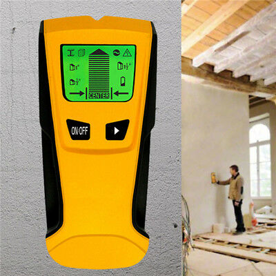 3 In1 Electric Metal Detector Stud Center Finder AC live Wire Wall Detector HDS