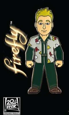 Firefly Wash Standing Figure Large Colored Enamel Metal Pin NEW UNUSED