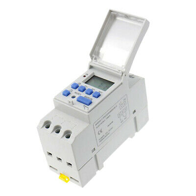 New Digital Time Programmable Timer Switch Mini LCD Power Weekly AC 220V 16A