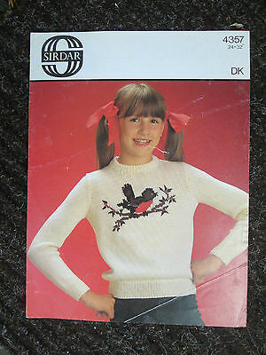 4 X Christmas Jumper Sweater Knitting Patterns 4 Snowman Angel Xmas