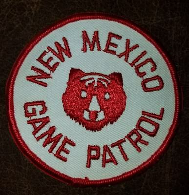 Vintage 1950s New Mexico Game and Fish Game Patrol Shoulder Patch RARE