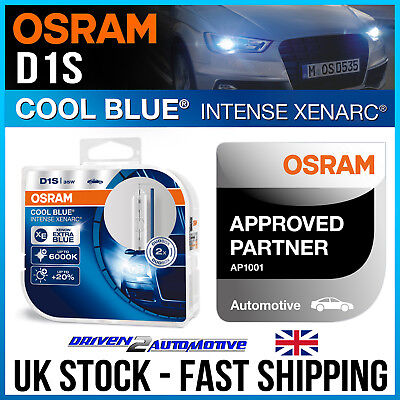 2x OSRAM D1S XENARC COOL BLUE INTENSE BULBS FOR DS DS5 1.6 THP 210 04.15-