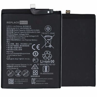 Replacement Internal Battery Pack For Huawei P20 Pro 4000mAh HB436486ECW UK OEM