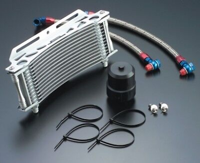 ACTIVE Round Oil Cooler Kit [for Big Radiator] YAMAHA VMAX 1200