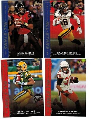 2016 Upper Deck CFL All Stars SSP Complete Your Set Pick from enclosed list