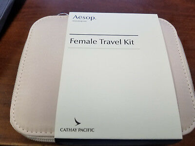 Cathay Pacific Female First Class Amenity Kit New Unopened