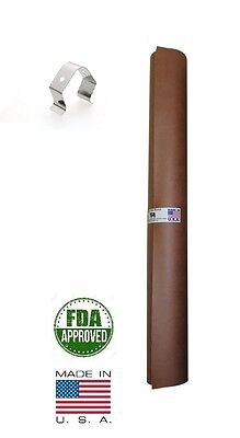 """36"""" x 100' Pink/Peach Butcher Paper Roll Smoker Safe Aaron Franklin BBQ Style"""