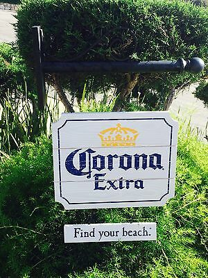 "Corona Extra Modelo Negra Victoria Hanging Beer Bar Wood Sign New"" Mirror"