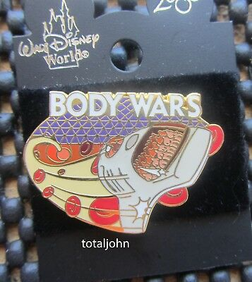Disney WDW Body Wars Pin