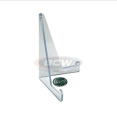 NEW (50 Count) BCW Brand Baseball Card Small Stands Holder Display