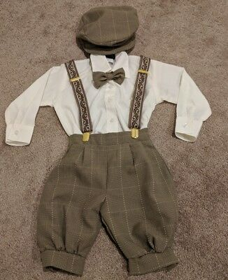 Gino Giovanni Baby Boy Vintage Knickers Outfit, size L (12-18 mo)
