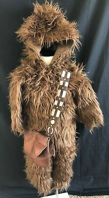Pottery Barn Kids Toddler Star Wars Chewbacca Halloween Costume 3T