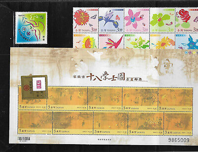 Taiwan 2007 Complete Year Set - Never Opened