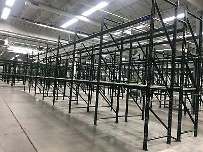 "13 Sections of Heavy Duty Pallet Racking, 44""D x 168""H..."