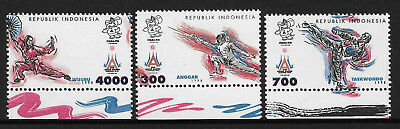 INDONESIA 1998 ASIAN GAMES SPORTS 3v MNH