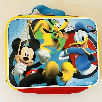 Disney Thermos Lunch Box Soft Insulated Kids Tote