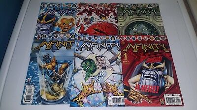 6 Issue Lot Infinity Abyss Thanos Warlock Avengers High Grade VF NM NM Comics