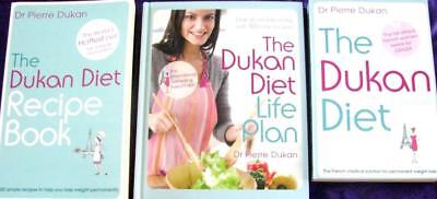 the DUKAN LIFE PLAN + THE DUKAN DIET WEIGHT LOSS + DUKAN DIET RECIPE BOOK