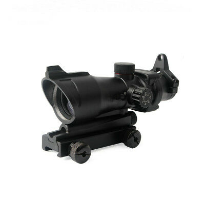 1x32 Tactical Illumination Red/Green Dot Sight Rifle Scope For Airsoft Hunting