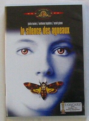 DVD LE SILENCE DES AGNEAUX - Jodie FOSTER / Anthony HOPKINS / Scott GLENN