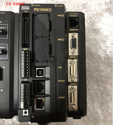 KEYENCE CV-5501P CV5501P tested and used in good condition