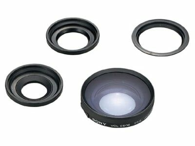 Sony Vcles06 A One-Touch Tele Conversion Lens X0.6 For 37 Mm Lens For Camera