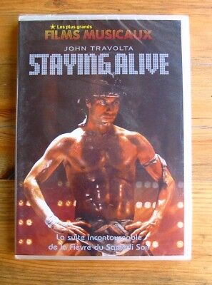 DVD STAYING ALIVE - John TRAVOLTA / Cynthia RHODES - NEUF