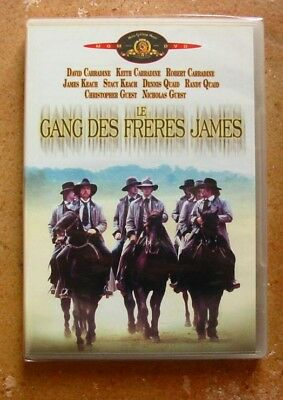 Dvd Le Gang Des Freres James - Carradine / Quaid - Neuf