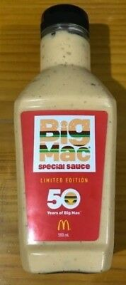 McDonald's Big Mac Sauce 50th Anniversary LIMITED EDITION  Free Postage
