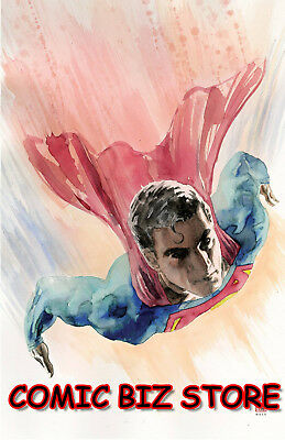 Superman #2 (2018) 1St Print Mack Variant Cover Bagged & Boarded Dc Universe