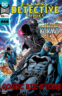 Detective Comics #986 (2018) 1St Printing Dc Universe Bagged & Boarded